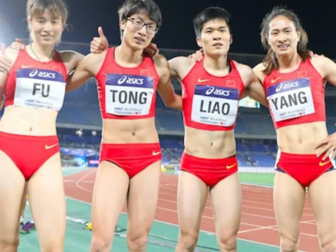 Vrouwelijke Chinese atletes gaan viraal omdat velen vinden dat ze er als mannen uitzien