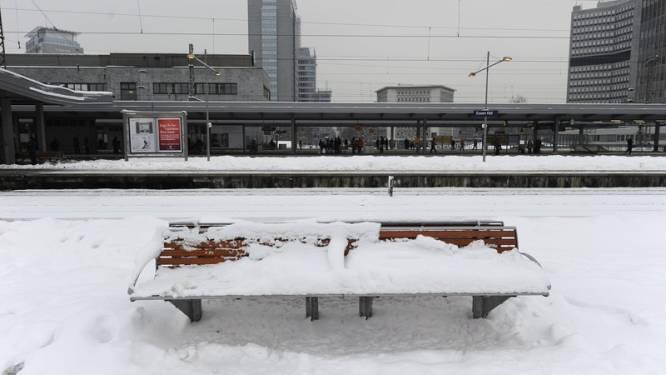 Bijna heel Duitsland ligt onder de sneeuw