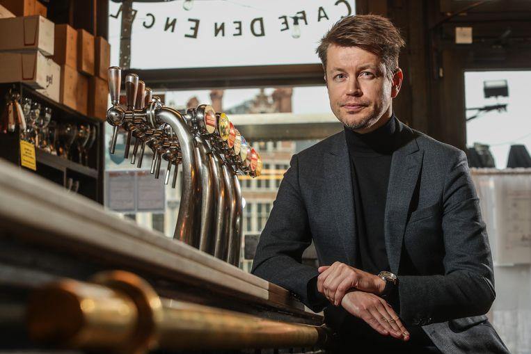 Matthias de Caluwe: 'De horeca leed altijd al zwaar onder faillissementen. Zonder extra steun dreigt een slagveld.' Beeld Photo News