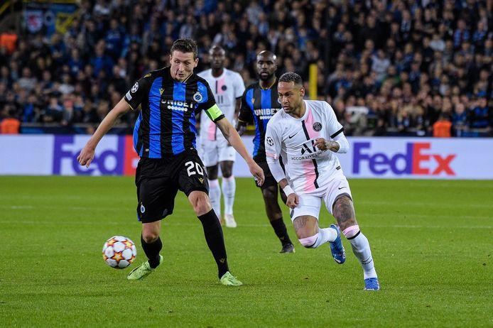 Hans Vanaken en Neymar.