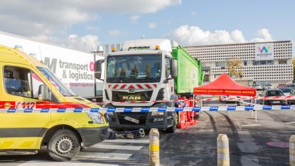Dame doodgereden op parking Westland Shopping