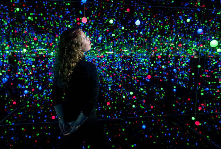 Yayoi Kusama, Gleaming Lights of the Souls (2008) © Yayoi Kusama Collection museum Voorlinden, Wassenaar Beeld RV/Antoine van Kaam