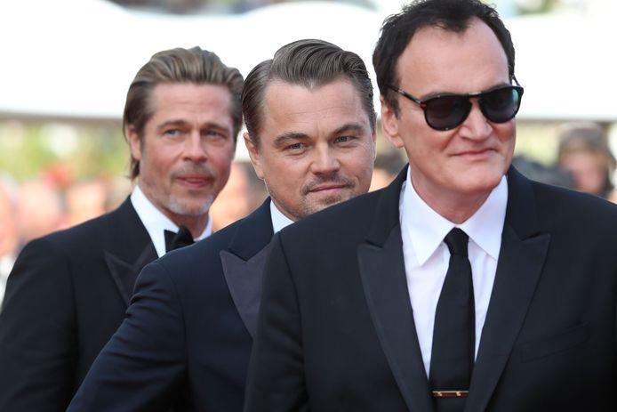 Brad Pitt, Leonardo DiCaprio en Quentin Tarantino.