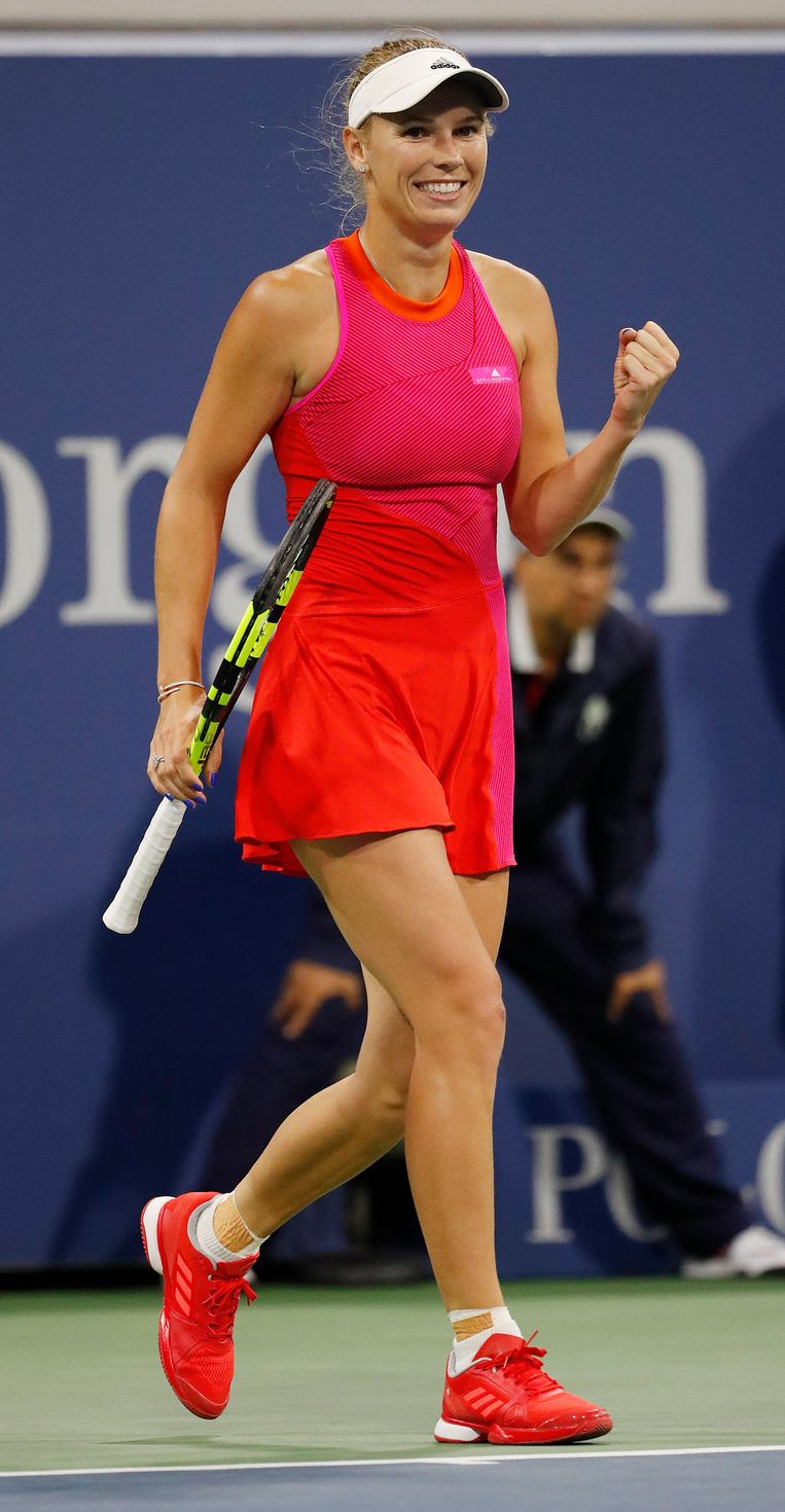 Caroline Wozniacki. Beeld epa