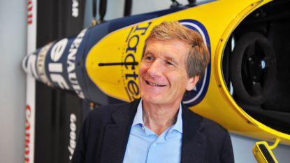 Ex F1-piloot Thierry Boutsen jurylid tijdens Zoute Grand Prix