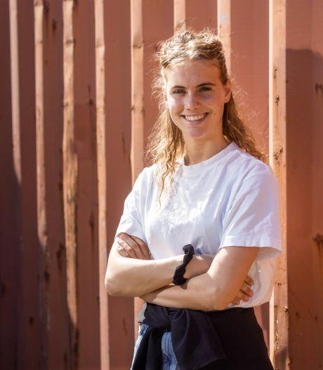Olympische droom van karateka Merel Landman spat in Parijs snel uit elkaar