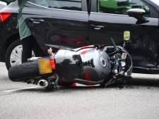 Motorrijder gewond bij botsing op Vlissingse kruising