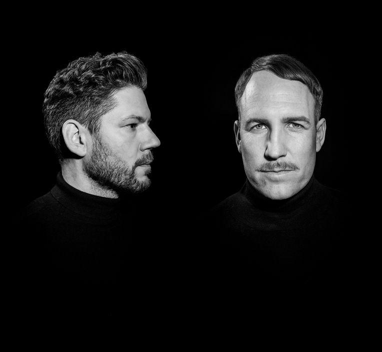 Âme , Frank Wiedemann (links)  en Kristian Beyer Beeld *