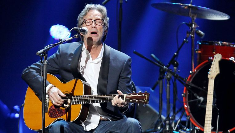 Eric Clapton. Beeld ap