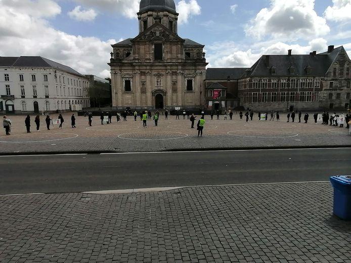 Actie kinderopvang in Gent