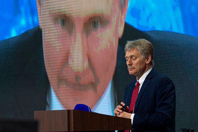 Le porte-parole de la présidence russe, Dmitri Peskov