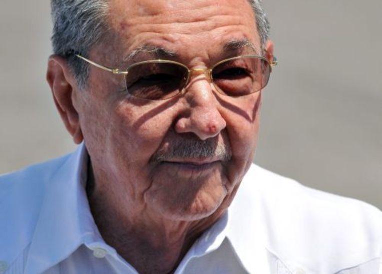 Raúl Castro. EPA Beeld