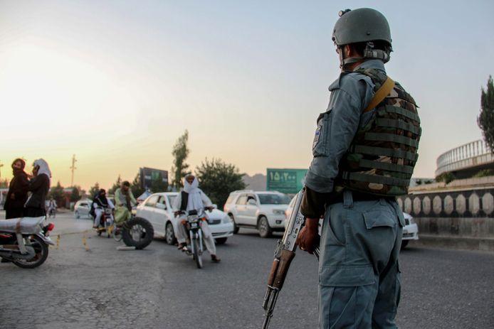 Contrôle de l'armée afghane à Kandahar, le 5 juillet dernier (illustration).