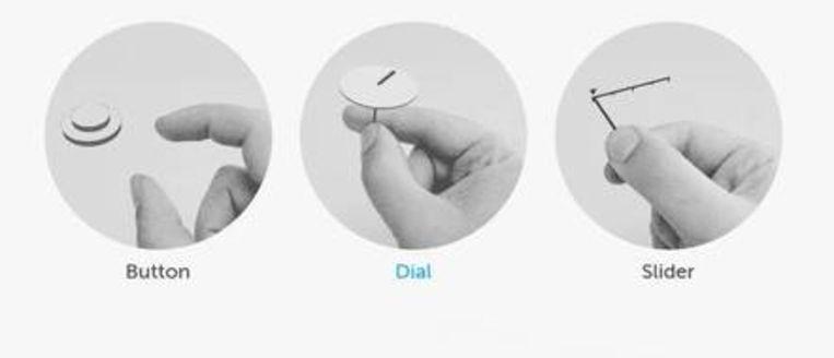 De miniradar van Google kan subtiele vingerbewegingen afleiden uit elektromagnetische straling. Beeld rv