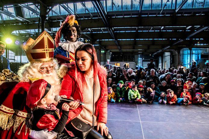De Sinterklaasintocht in Tilburg van vorig jaar, met Zwarte Piet.