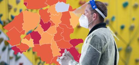 KAART   Meer besmettingen: Gelderland loopt rood aan, opvallende omslag in Staphorst