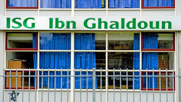 De Ibn Ghaldounschool in Rotterdam. Beeld anp