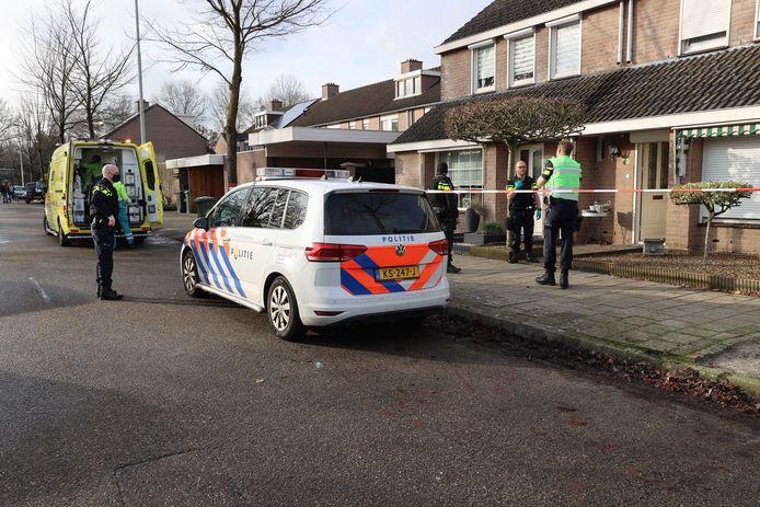De man die vrijdag in een woning aan de Cahorslaan in Eindhoven geschoten heeft, was niet alleen.
