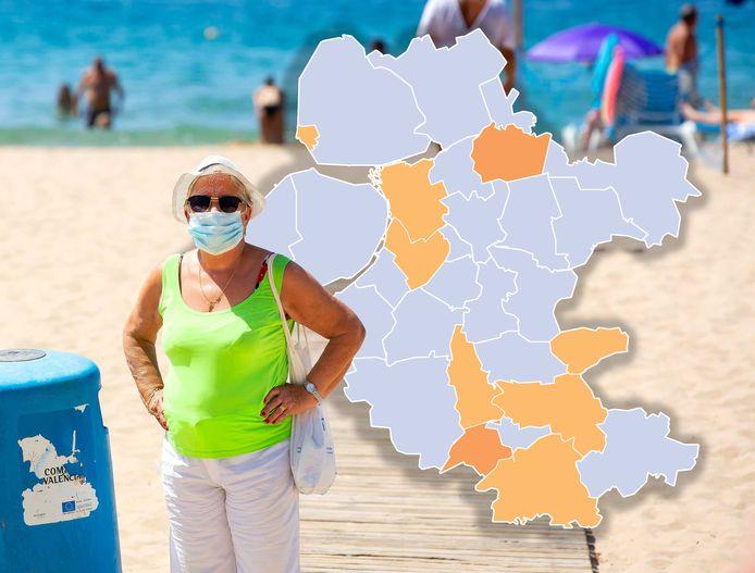 Een hele kleine stijging van het aantal coronabesmettingen in Oost-Nederland vandaag. De situatie in veel gemeenten blijft echter goed.