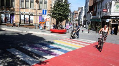 """Oudenburg krijgt 'regenboogzebrapad': """"Zullen nu geschikte locatie zoeken"""""""