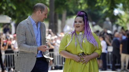 Netta onder de indruk van 'charmante' prins William na wandeling door Tel Aviv