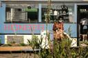De kontakt.kookbus op het Stroomplein van Onder Stroom.