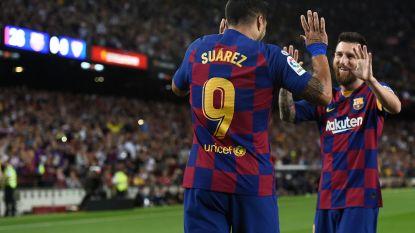 Barça geniet weer volop van Suárez en Messi: duo scoort geweldige goals tegen Sevilla (4-0)