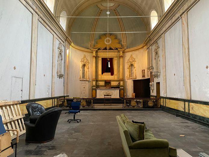 Na de zomer krijgt ook het klooster zelf een bredere invulling.