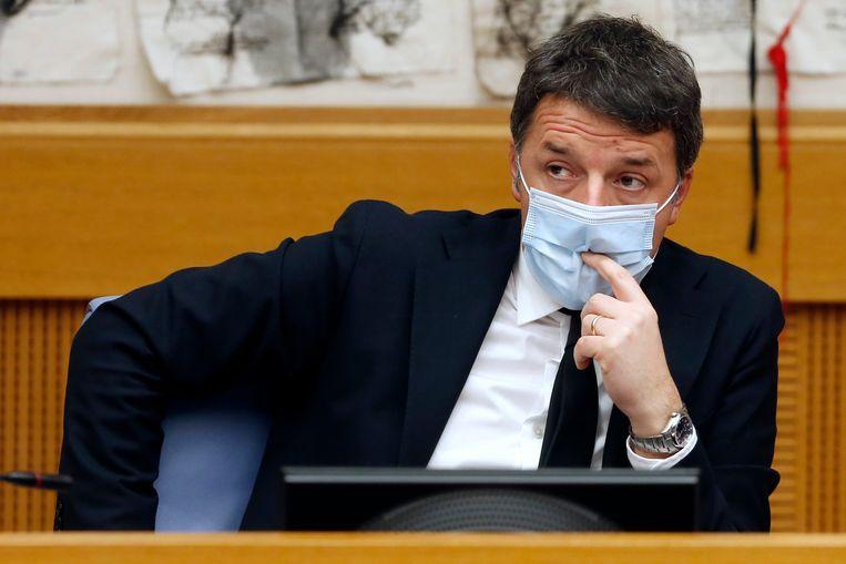 Niemand lijkt goed te begrijpen wat Matteo Renzi (Italia Viva) bezielt. Beeld Photo News