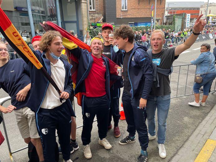WK sfeer Leuven