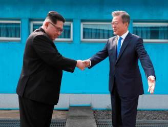 Toeristen recreëren massaal ontmoeting tussen Koreaanse leiders