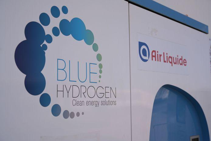 Station d'hydrogène à Zaventem, en Belgique.
