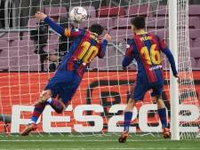 Messi met curieuze goal voorbij Pelé op teleurstellende middag voor Barça