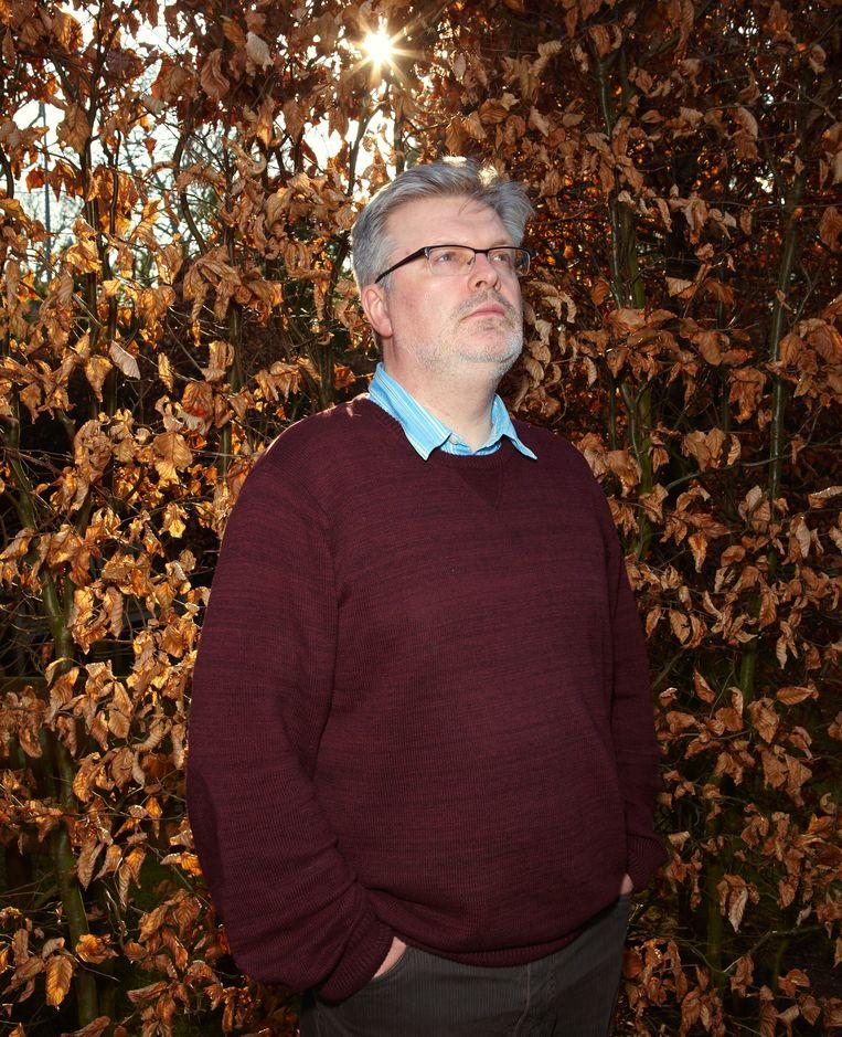Componist James MacMillan in 2014 in Hilversum. Beeld Daniel Cohen