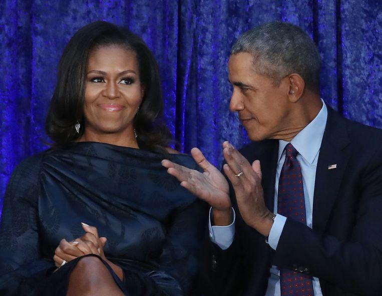 'Waar ik ook trots op ben, en daar heb ik het vaak over met Michelle, is dat we het fatsoenlijk hebben kunnen doen. Er zijn geen schandalen geweest.' Beeld Getty Images