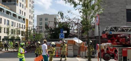 Un échafaudage s'effondre à Anvers: un mort et cinq personnes portées disparues