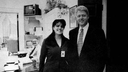 Dag op dag: 21 jaar geleden ontkende Bill Clinton zijn affaire met Monica Lewinsky, met die ondertussen legendarische zin