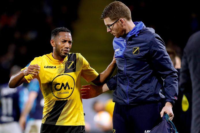 Fabian Sporkslede verlaat op 9 december van het vorig jaar met een achillespeesblessure het veld bij NAC - Vitesse. Mogelijk maakt hij voor RKC Waalwijk in de wedstrijd tegen Ajax zijn rentree in de eredivisie.