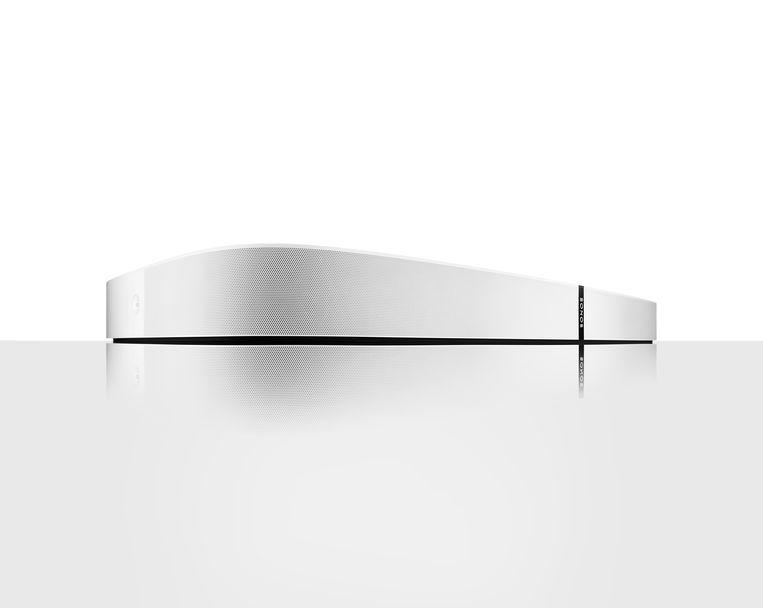 De Sonos Playbase is bedoeld om uw tv op te zetten.  Beeld RV Sonos
