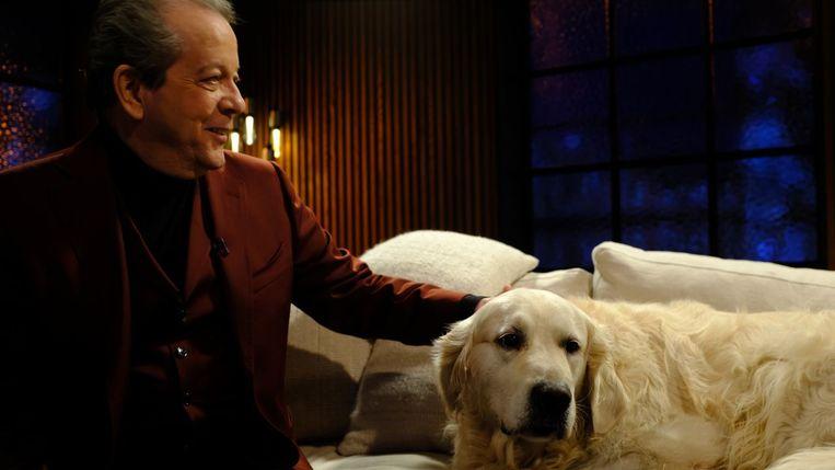 Walter Grootaers met Swami Bami Beeld VRT