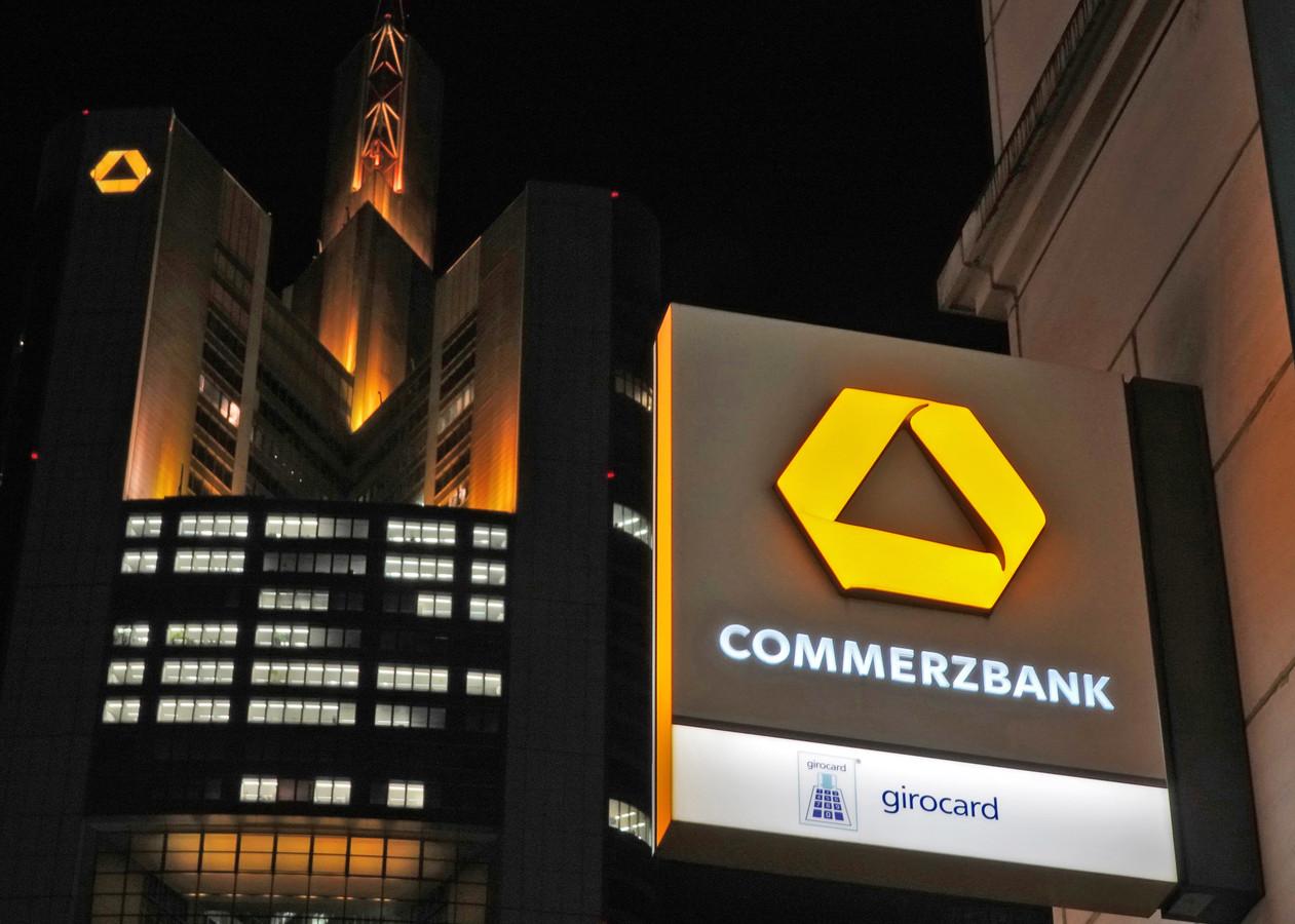 Dit keer was de Commerzbank het doelwit.