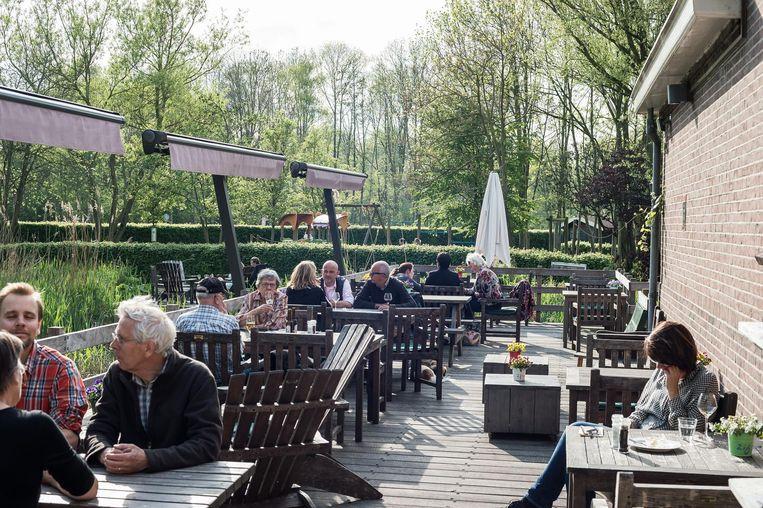 Boerderij Langerlust is an idylllic spot Beeld Mats van Soolingen