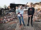 Angela redt zoontje uit brandend huis: 'Je zag heel de kinderkamer instorten'