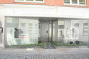 De gevel van de kwekerij in Wervik.