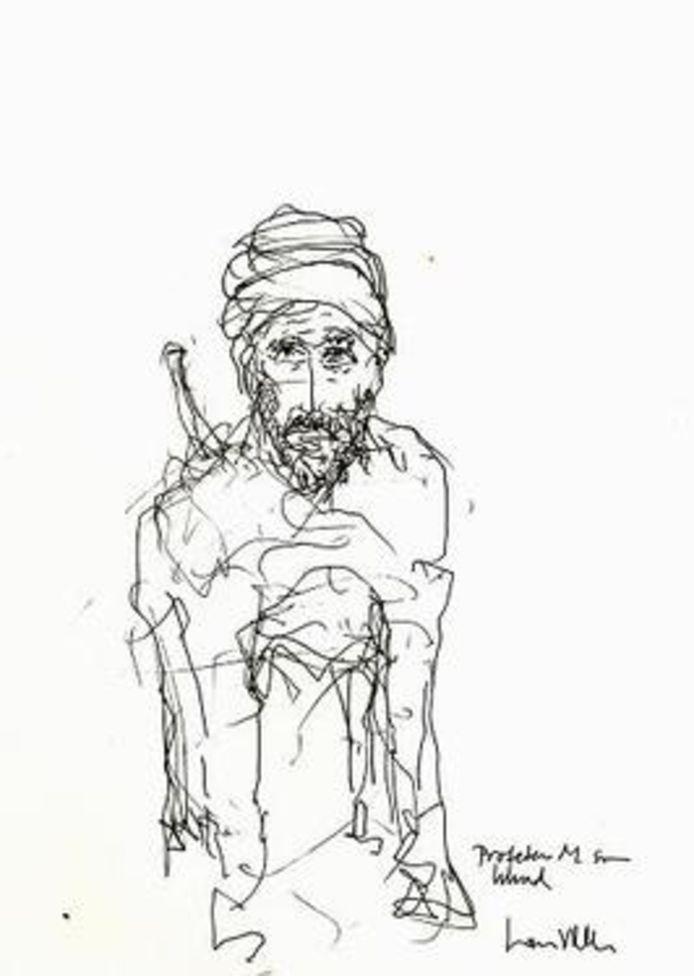 Felix ha ritratto il Profeta come un cane.