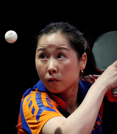 Li Jie ook in dubbel klaar op WK