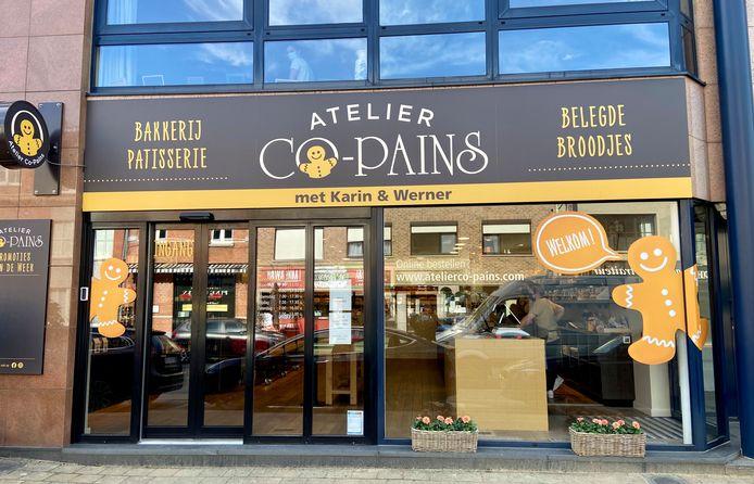 Atelier Co-Pains heeft deze week haar deuren geopend op de Wijnegemsteenweg in 's-Gravenwezel