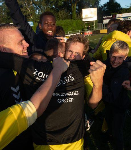 DOS Kampen overtuigend naar ruime overwinning in derby tegen Go Ahead, Flevo Boys aan kop in de Hoofdklasse