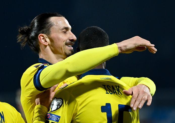 Zlatan keerde onlangs terug in de Zweedse nationale ploeg.