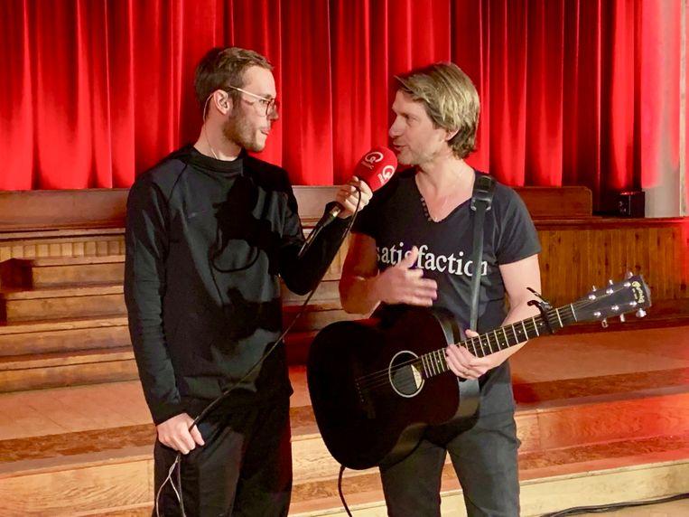 Gene Thomas en Vincent Fierens voor Rode Neuzen